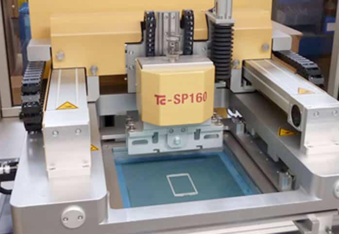 Tampondruck Maschine